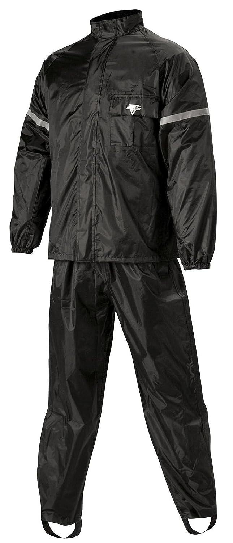 Nelson Rigg WeatherPro Rainsuit (Black, Large), 2 Piece WP-8000-BLK-03-LG