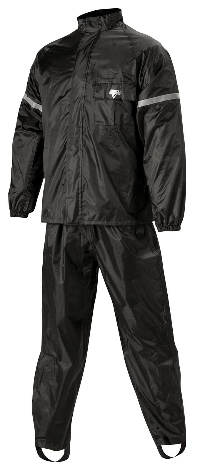 Nelson Rigg WeatherPro Rainsuit (Black, XX-Large), 2 Piece