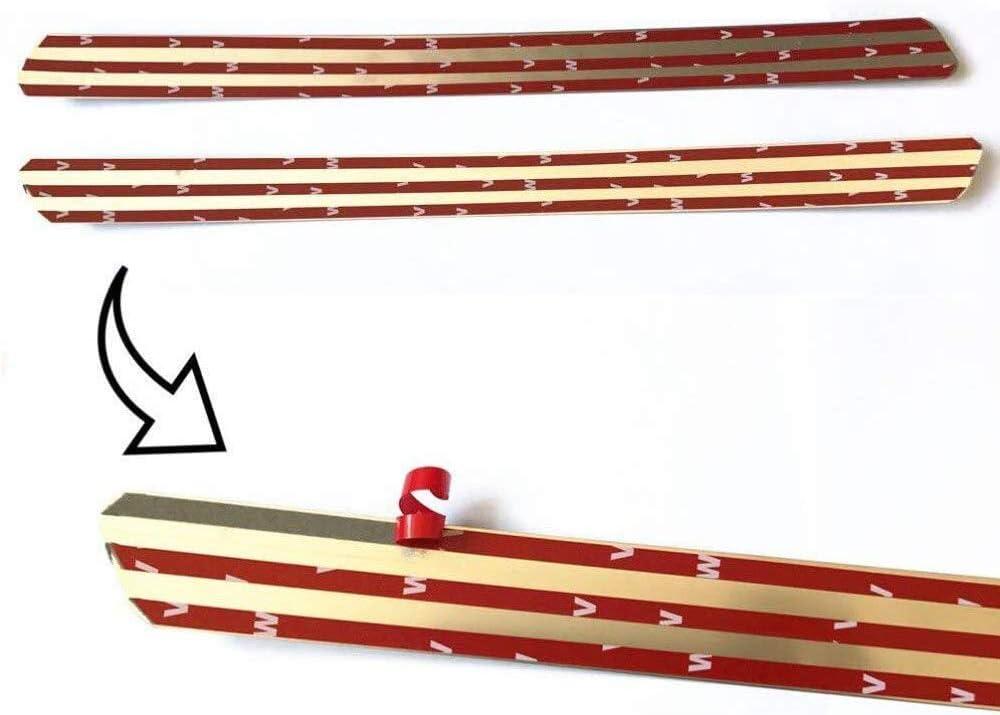 Threshold Barre Voiture Style Accessoire QYHL 4pcs Seuil de Porte en Acier Inoxydable pour Chevrolet Cruze 2009-2015 P/édale Kick Plates Plinthes