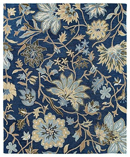 Kaleen Rugs Brooklyn Collection 5304-17 Blue Hand Tufted for sale  Delivered anywhere in USA