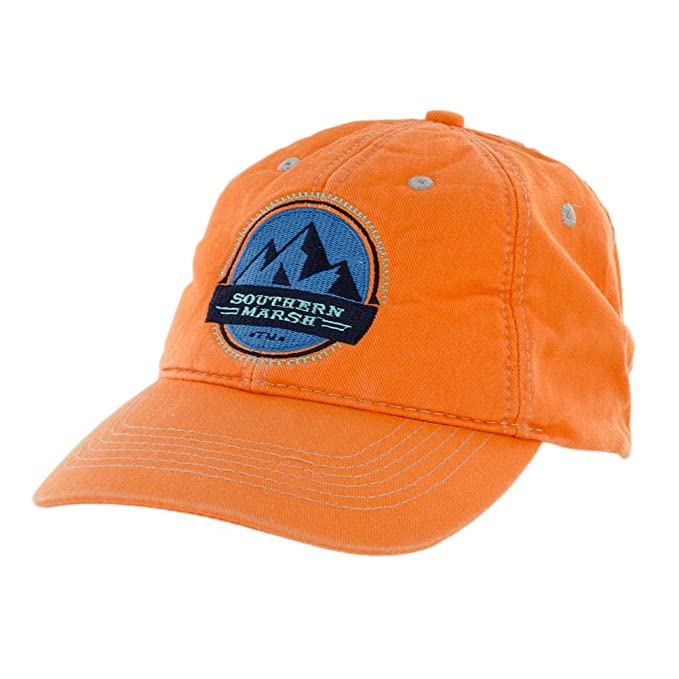 fd39e183 Southern Marsh Men's Thompson Twill Summit Hat, Coral, One Size at Amazon  Men's Clothing store: