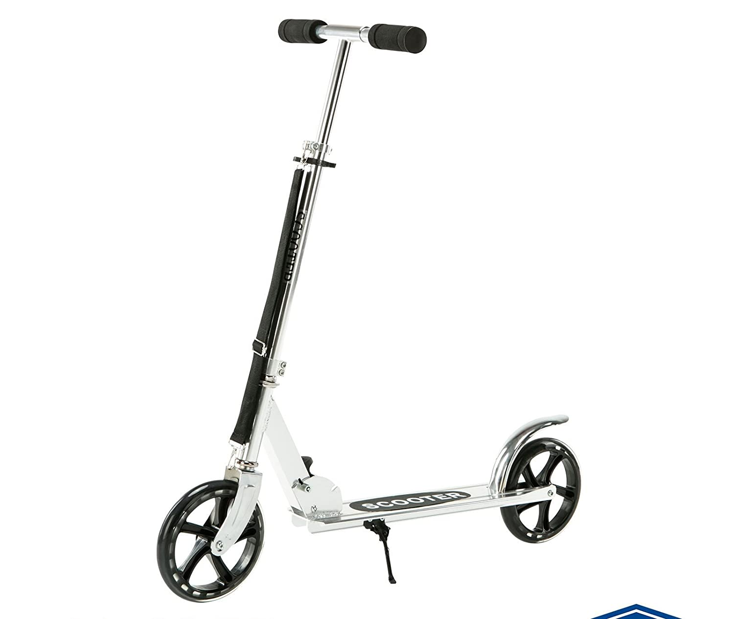 New Folding Kick Scooter 2 Wheels Outdoor Kid/Adult Ride Sport Exercise Scooter Silver
