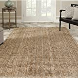 Safavieh Hand-woven Natural Fiber Natural Accents Chunky Thick Jute Rug (7'6 x 9'6) Review