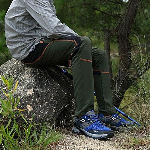 Leggeri Mesh Blue Sneakers Explorer degli Escursione YongBe Impermeabili Antiscivolo Uomini Scarpe Wearable Walking X6gxqw