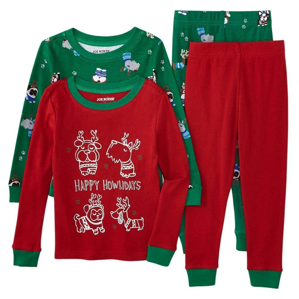 Amazon.com: Joe Boxer Infant & Toddler Boys Happy Howlidays ...