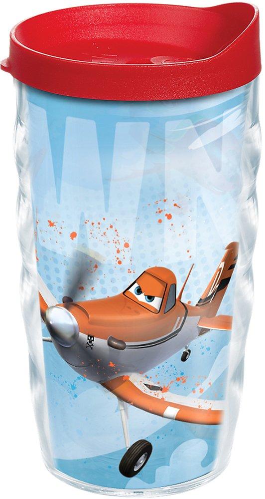 Tervis Papier ondulé verre avec couvercle Rouge 10 ml - Disney Planes