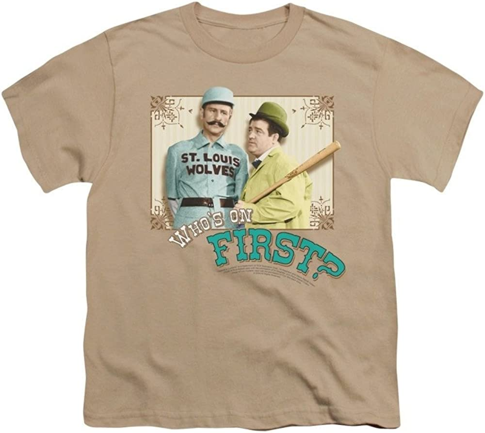 Abbott /& Costello Whos On First Youth T-shirt