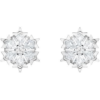 c06acfa44 Swarovski Women Stainless Steel Stud Earrings - 5428430: Amazon.co.uk:  Jewellery