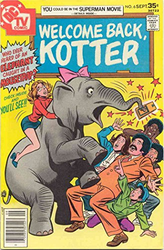 Welcome Back, Kotter #6 FN ; DC comic book