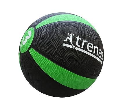 trenas Balón Medicinal de Goma Pro - 3 kg: Amazon.es: Deportes y ...