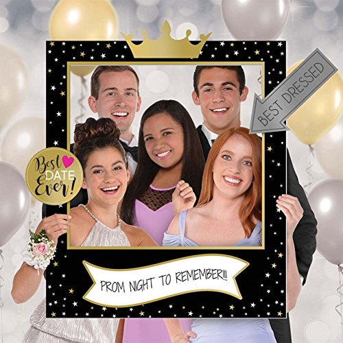 Prom Customizable Giant Selfie Frame Set   Party Favor   1 -