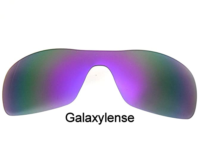 aad0511228 Image Unavailable. Image not available for. Color  Galaxy Replacement Lenses  for Oakley Batwolf Purple ...