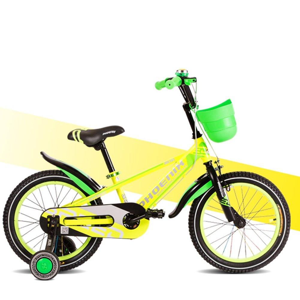 XQ TY-102子供用自転車8-16歳の少年少女高炭素スチールキッズバイク安定した耐衝撃性のピアノ塗料 子ども用自転車 ( 色 : イエロー いえろ゜ , サイズ さいず : Length-125cm ) B07CFX13MQイエロー いえろ゜ Length-125cm