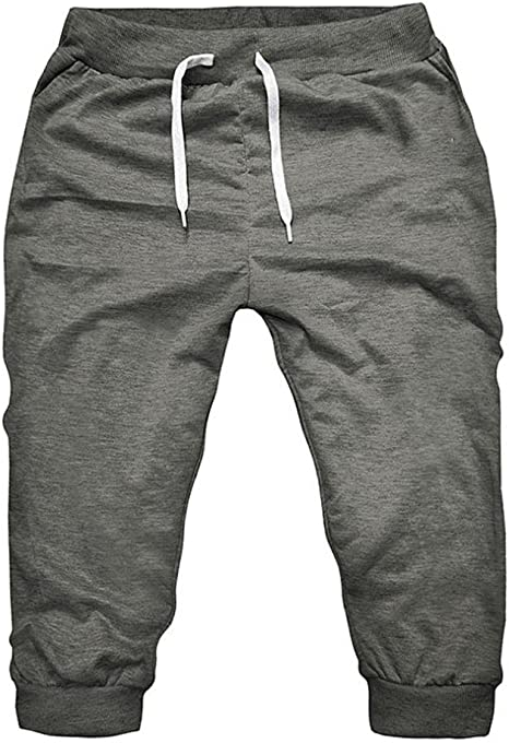 kingprost de pantalones cortos pantalones para correr Hombre Solid ...