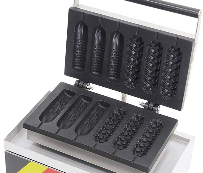Amazon.com: Hanchen NP 528 - Máquina para hacer gofres ...