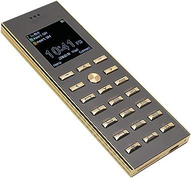 Teléfono móvil con botón grande para personas mayores ...