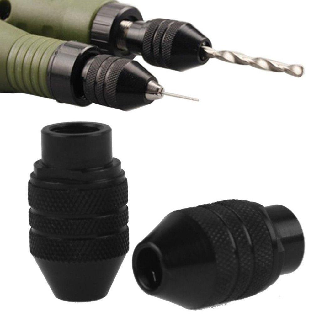 VOOYE 0.3 –  3.2 mm mandrino a cambio rapido mandrino universale per Dremel smerigliatrice elettrica multi Tool (8 * 0.75 Long Tail)