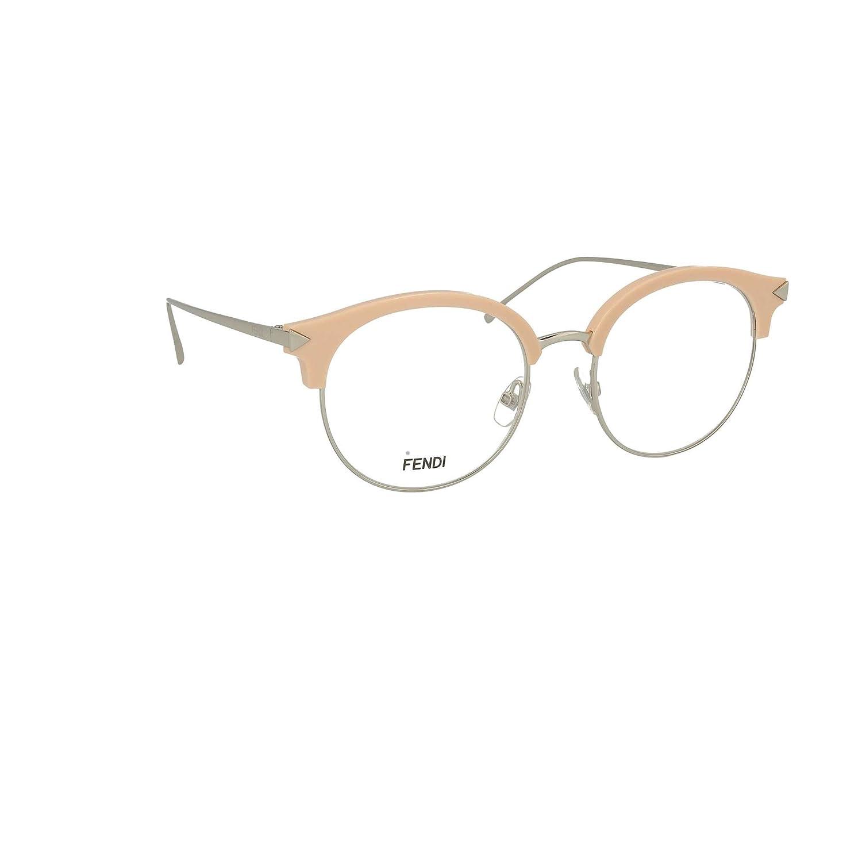 5bb99619c67 Amazon.com  Fendi FF0165 V5N18 51mm Eyeglasses  Clothing