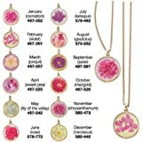 Avon Birth Month Flower Necklace Pendant, May