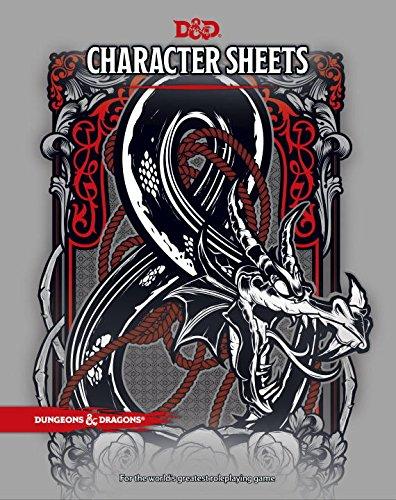 character sheets - 1