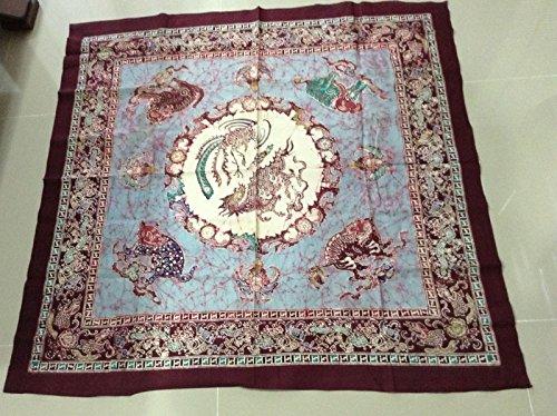 Beautiful Colorful Fabric Oriental Asian Wall Hanging Decor Table Cloths, marimekko tablecloth , basket weave table cloth