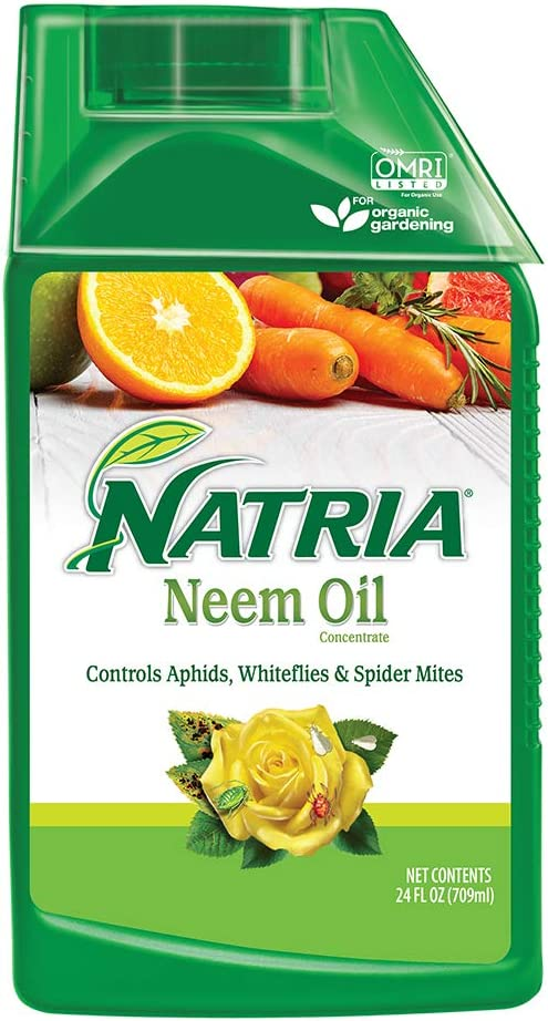 Natria 706240A Organic Plant Protection From Pests and Diseases Neem Oil Concentrate 24 Oz, 24-Ounce