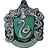 """Ata-Boy Harry Potter Slytherin Crest 3"""" Full Color Iron-On Patch"""