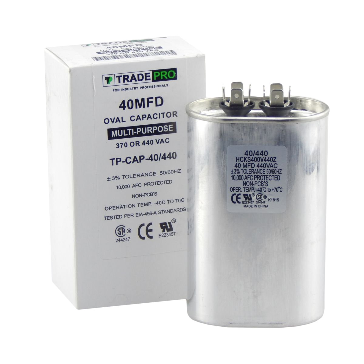 Product industry capacitors