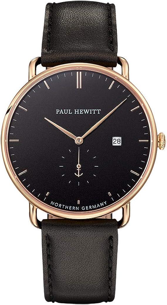 PAUL HEWITT Armbanduhr Edelstahl Grand Atlantic Line Black