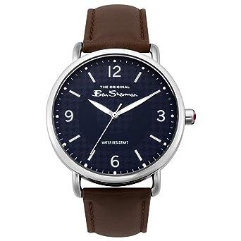 Uhr Mit Pu Armband Quarz Bs015brAmazon Ben Sherman Analog Herren pUzVqSM