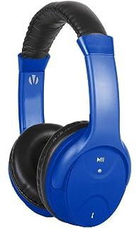 amazon com vivitar v11897 wireless headphone assorted colors vivitar v12909 blu km bluetooth headphone mic blue