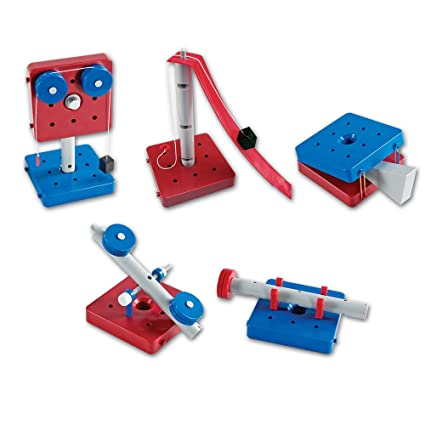 Amazon Com Learning Resources Simple Machines Set Of 5 Toys Games