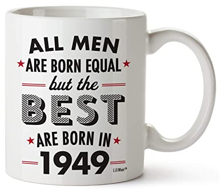 Tazas de regalo para 70 cumpleaños para hombres de 70 años ...
