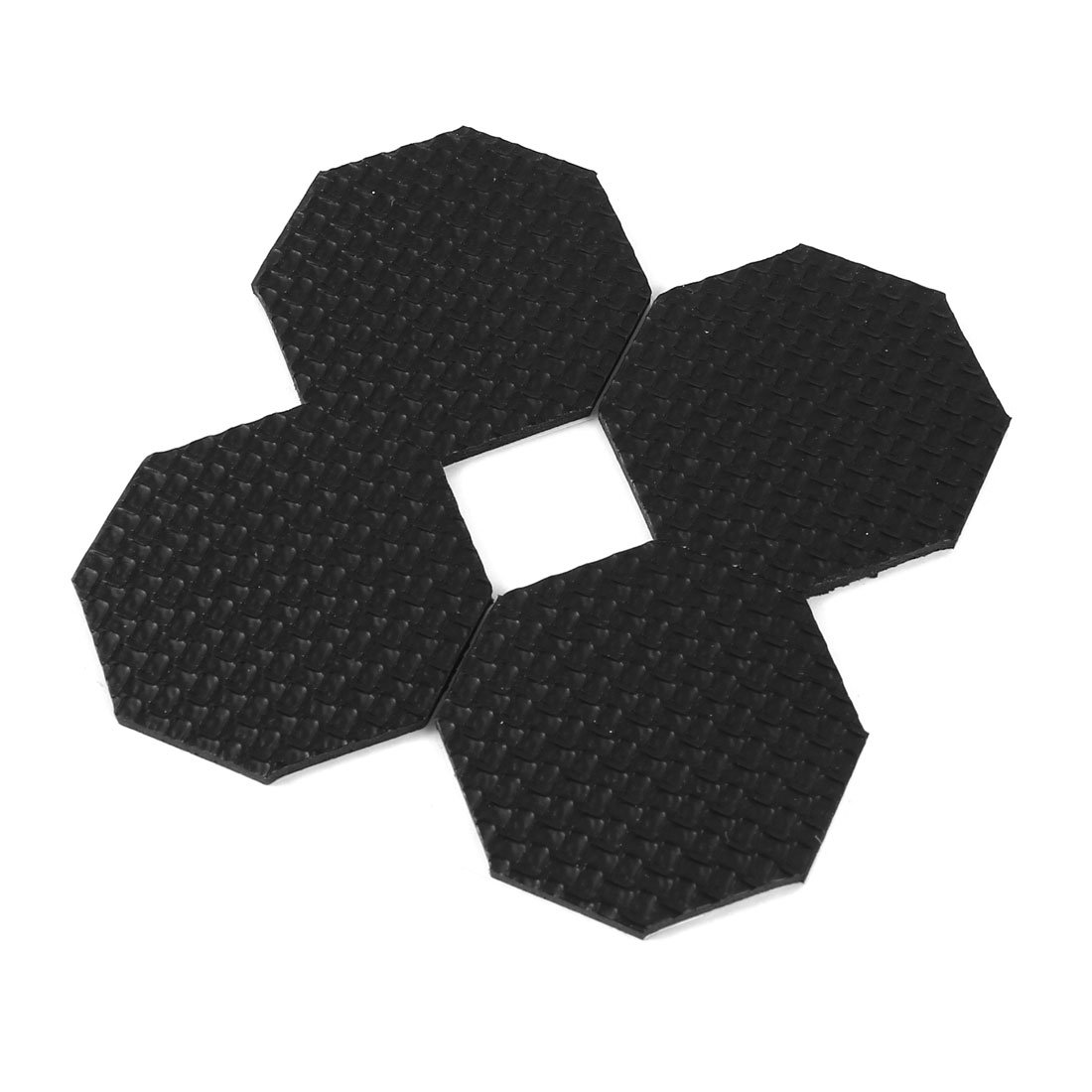 uxcell 4 Pcs Foam Anti Skid Furniture Self Adhesive Pad Protector 45mm Length US-SA-AJD-46075