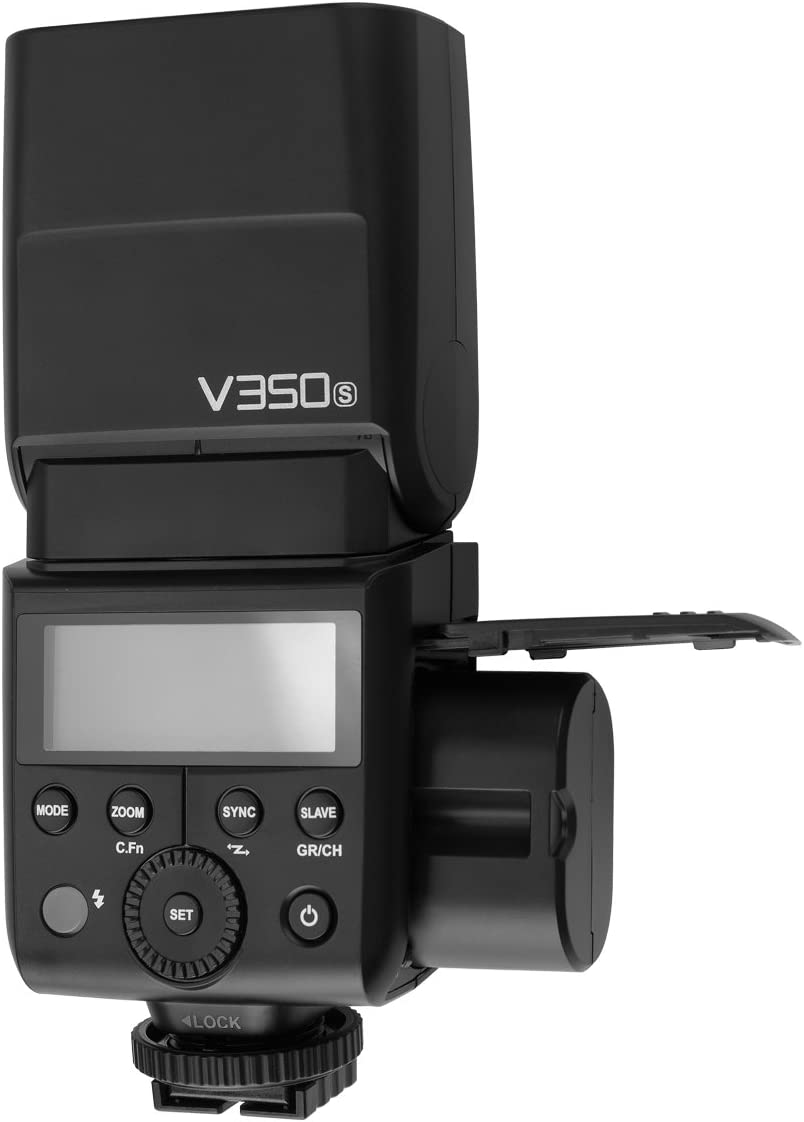 Godox V350-N TTL Flash Speedlite with LCD Display for Nikon D5 D4 D70S D90 D100 D200 D300S D300 D500 D610 D700 D750 D800 D810 D3100 D3200 D3300 D5000 D5100 etc