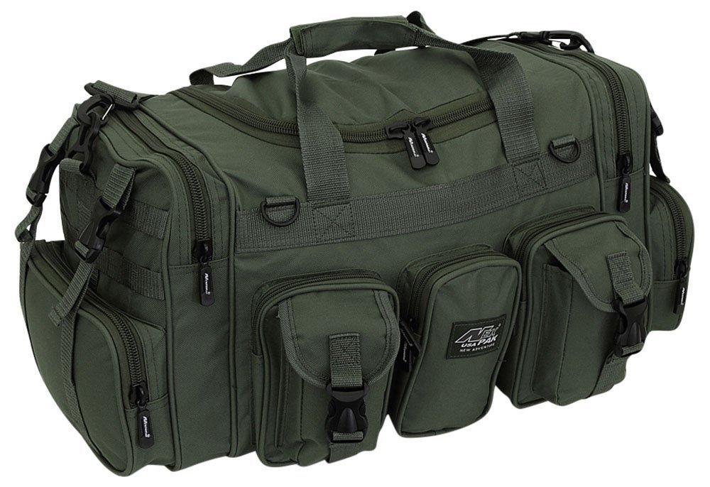 Nexpak 22'' Tactical Duffle Military Molle Gear Shoulder Strap Range Bag TF122 ODGRN Olive Green by Nexpak