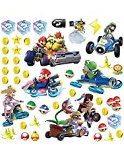 RoomMates RMK2728SCS Mario Kart 8 Peel and Stick Wall Decals (Set of 4), 10-Inch X 18-Inch