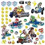 RoomMates Ninetendo Mario Kart 8 - Adhesivos decorativos para pared