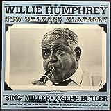 Willie Humphrey - New Orleans Clarinet Lp Vinyl Record