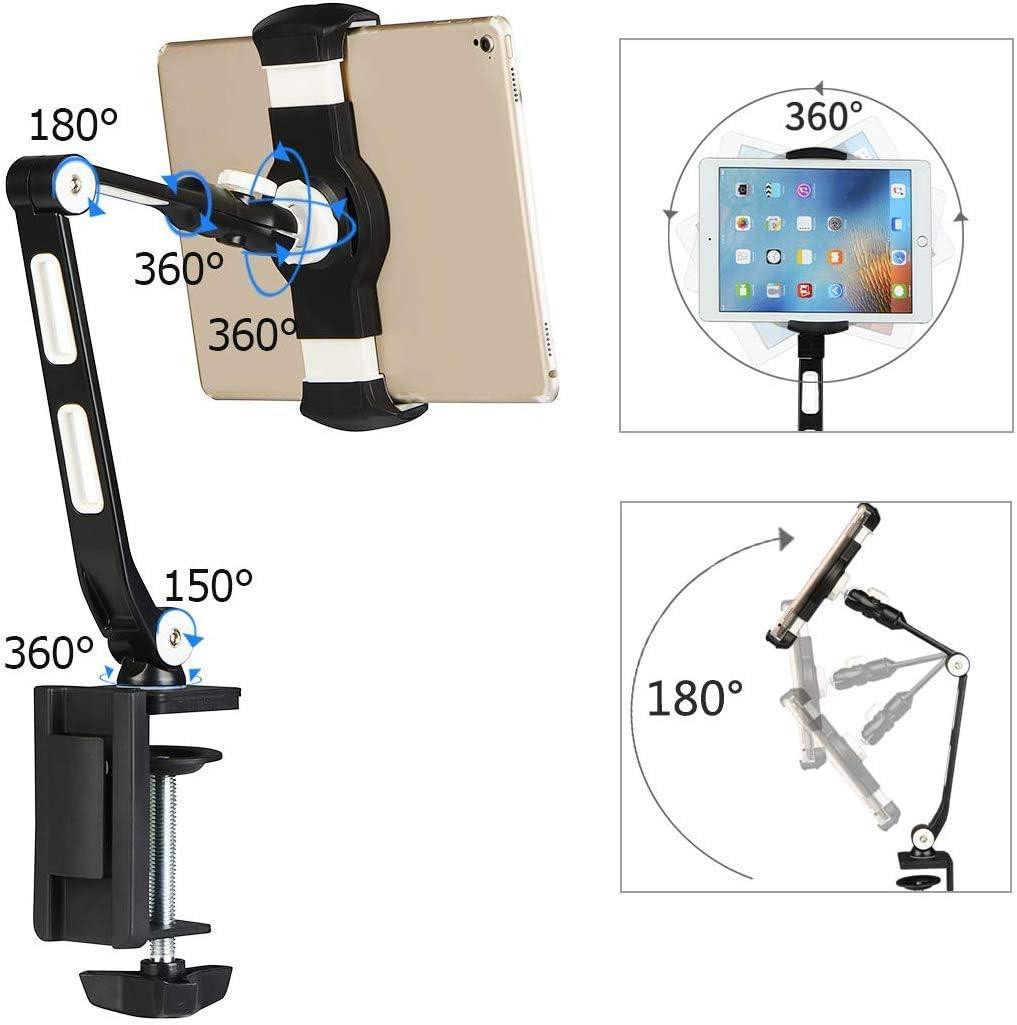 Soporte para Tableta Soporte De Abrazadera Soporte De 360 Grados ...