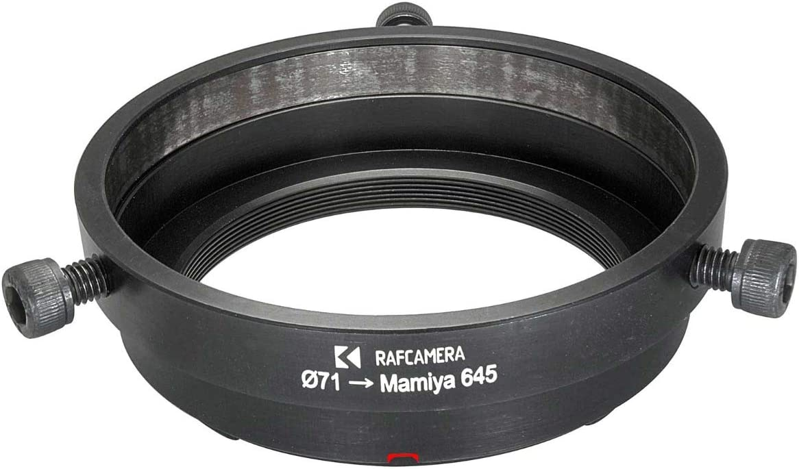 71mm to Mamiya 645 Adapter to use Schneider Cinelux Lenses
