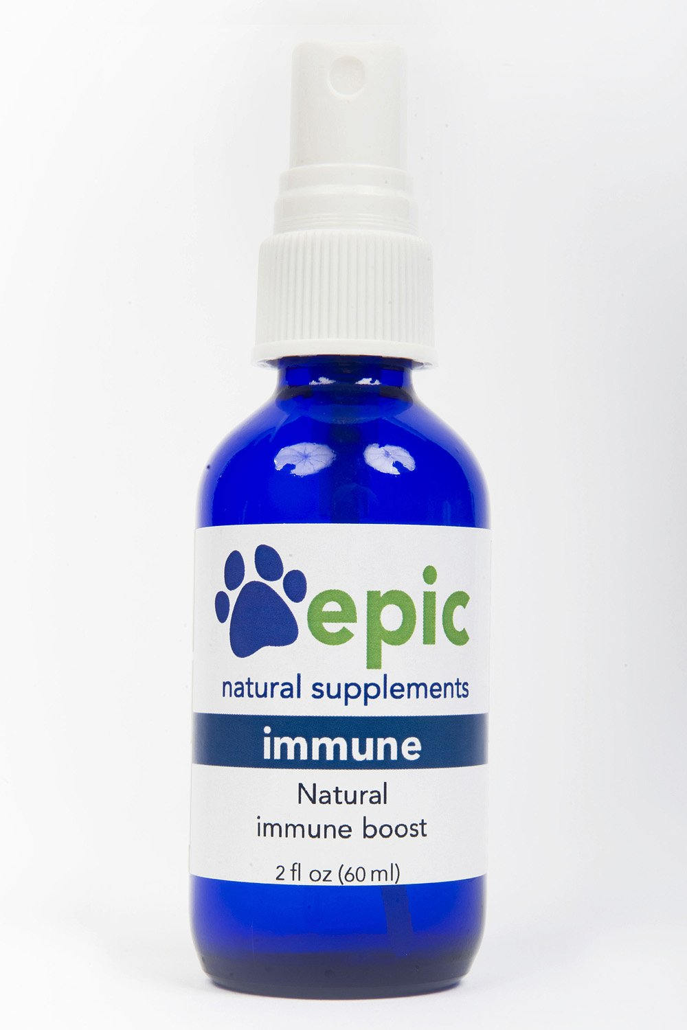 Immune - Natural, Electrolyte, Odorless Pet Supplement That Boosts The Immune System, Made in USA (Spray, 2 Ounce) by Epic Pet Health