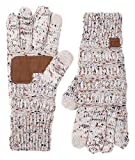 G1-6033-67 Funky Junque CC Knitted Confetti Glove: Oatmeal Confetti
