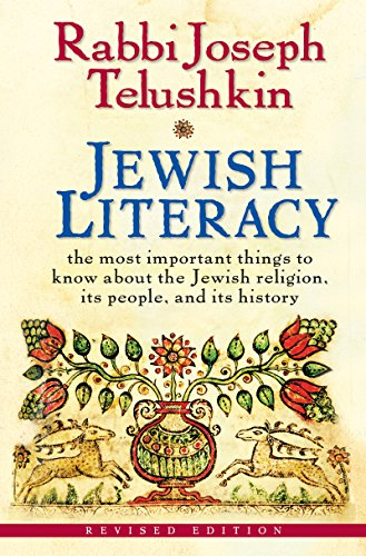 Jewish Literacy Revised Ed Important ebook product image