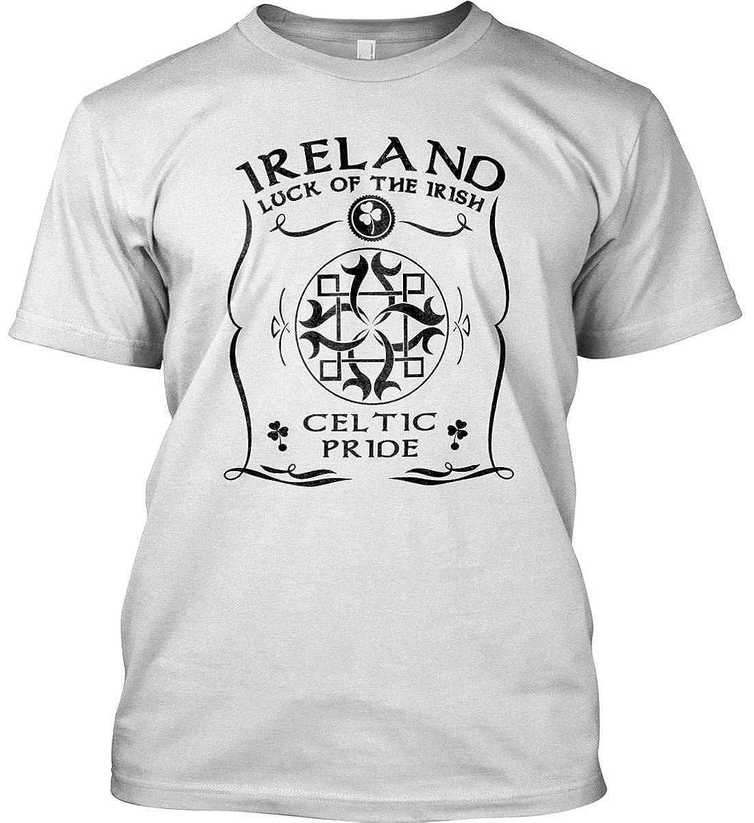 Luck of The Irish Ireland Celtic Pride Gildan Shirt. Irish T-Shirt
