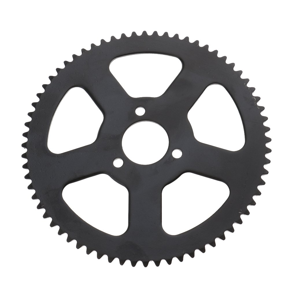 Baoblaze 25H 68T 68 Tooth Rear Sprocket and 68 Links Chain for 49CC Mini Motor Pocket Bike
