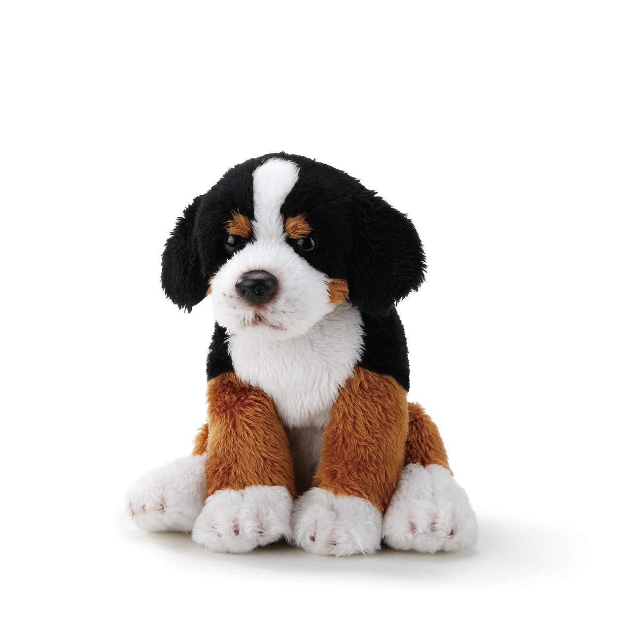 DEMDACO Bernese Mountain Dog Children's Plush Beanbag Stuffed Animal Toy