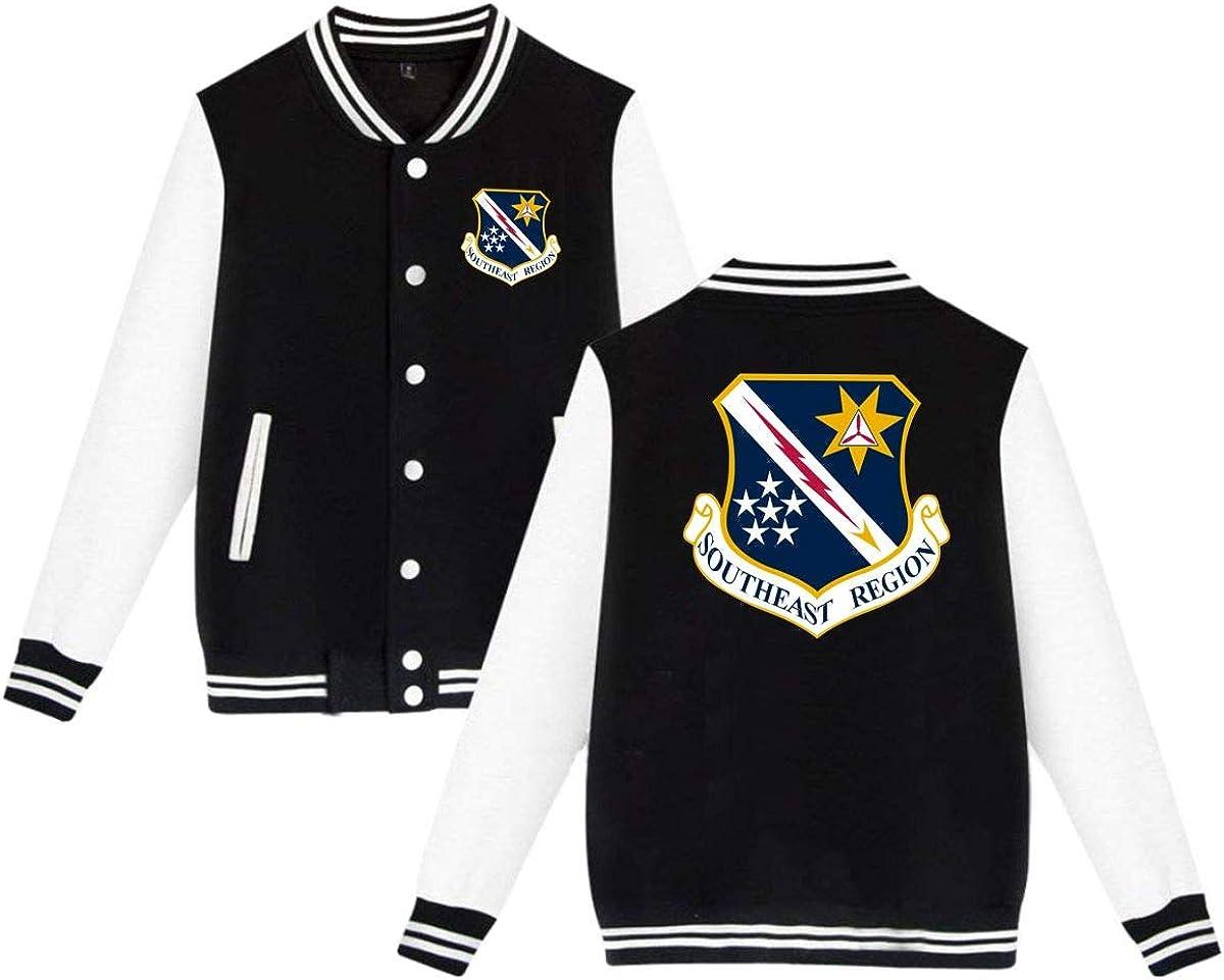 US Civil Air Unisex Baseball Uniform Jacket Sweatshirt Sport Coat