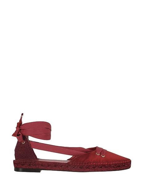 a30babe3 CASTANER X MANOLO BLAHNIK - Alpargatas de Lona para Mujer Rojo Red, Color  Rojo, Talla 35.5: Amazon.es: Zapatos y complementos