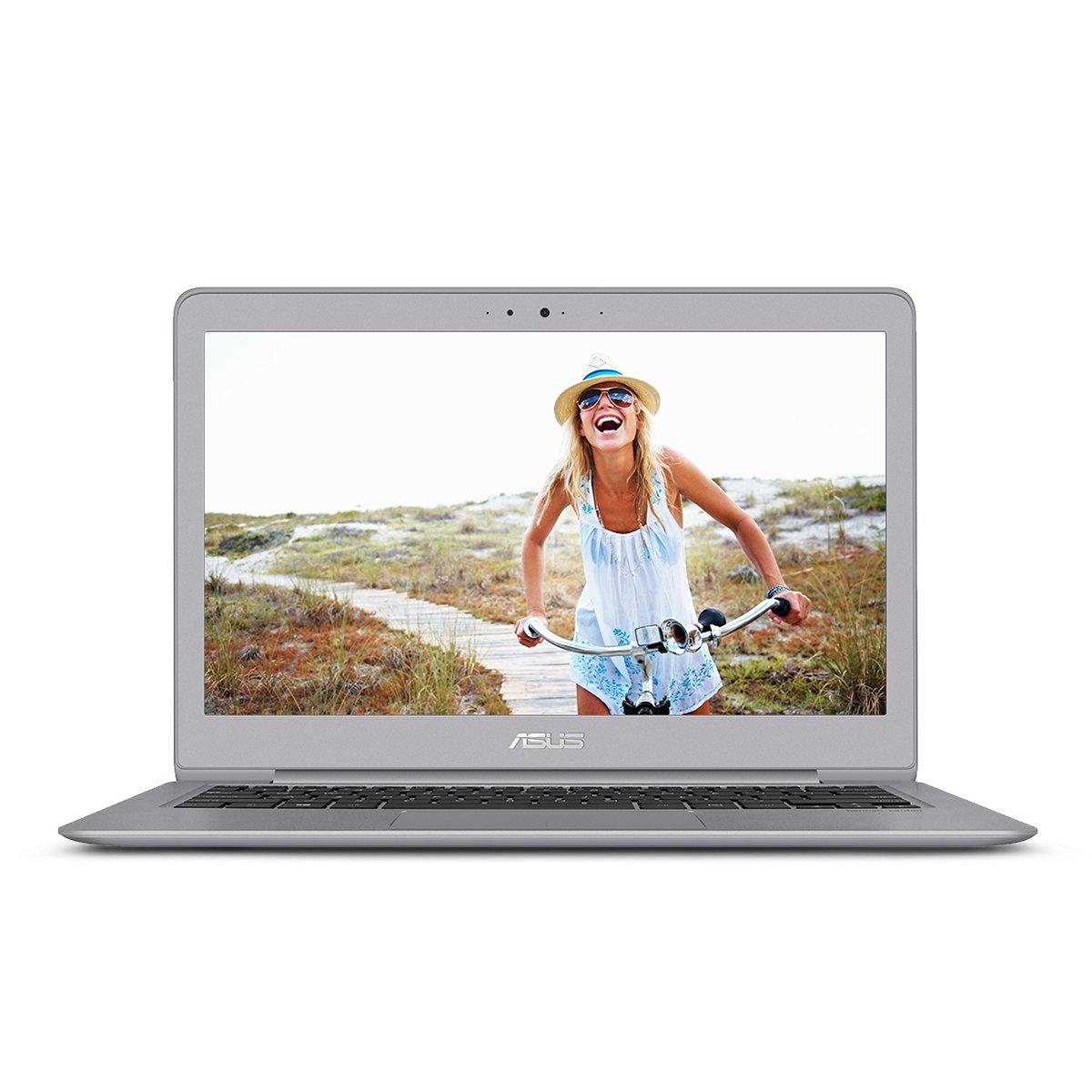 ASUS ZenBook UX330UA-AH54 13.3-inch LCD Ultra-Slim Laptop (Core i5 Processor, 8GB DDR3, 256GB SSD, Windows 10) w/ Harman Kardon Audio, Backlit keyboard, Fingerprint Reader by Asus (Image #1)